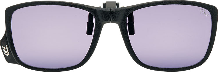 LENS:AIRY PURPLE FRAME:MATT BLACK
