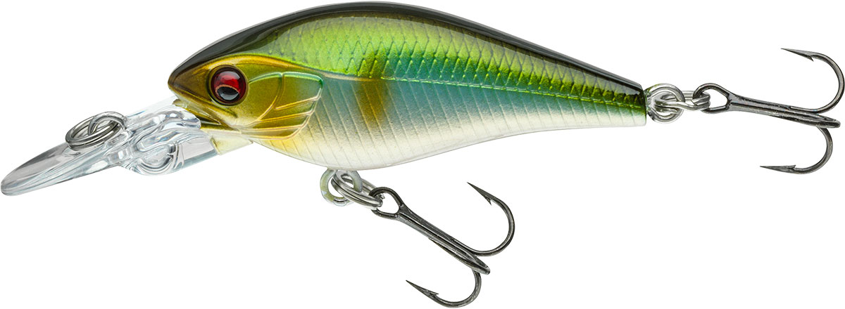3g Daiwa Prorex Baby Crank MR 4cm perch floating lure for trout