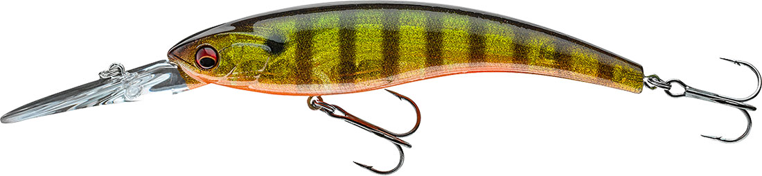 12cm 26g floating lure for zander Daiwa Prorex Diving Minnow DR